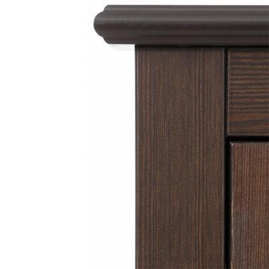 Шкаф для одежды Рауна-100 (колониал)