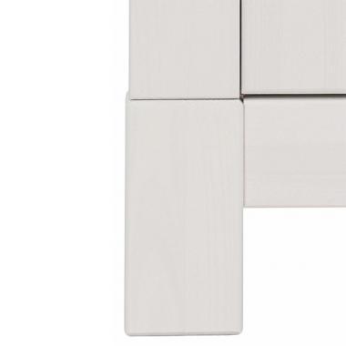 Шкаф для одежды Рауна-100 (белый воск УКВ)