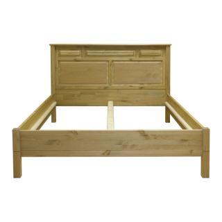 """Кровать """"Рауна"""" М-180-БИ (бейц/масло) из массива сосны"""