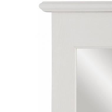 Зеркало навесное в раме Рауна-200 (белый воск УКВ)