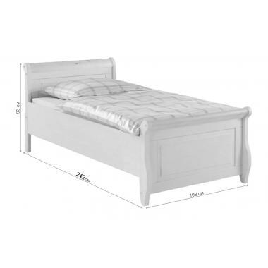 Кровать Мальта 100x220 без ящиков